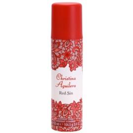 Christina Aguilera Red Sin Deo-Spray Damen 150 ml