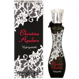 Christina Aguilera Unforgettable eau de parfum nőknek 30 ml