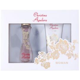 Christina Aguilera Woman confezione regalo II  eau de parfum 30 ml + gel doccia 50 ml