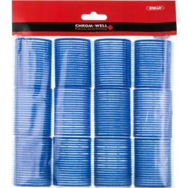 Chromwell Accessories Blue wałki samoprzylepne do włosów ( ø 48 x 63 mm) 12 szt.