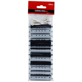 Chromwell Accessories Black/Grey Haarwickler für Dauerwelle ( ø 16 x 91 mm ) 9,1 cm