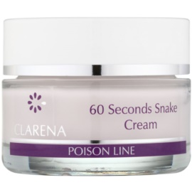 Clarena Poison Line 60 Second Snake Liftingcrem mit Antifalten-Effekt  50 ml