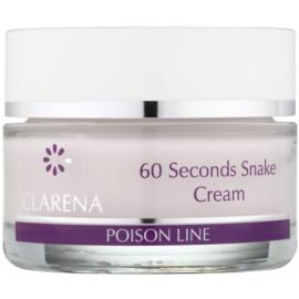 Clarena Poison Line 60 Second Snake liftingový krém s protivráskovým účinkem  50 ml