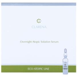 Clarena Eco Atopic Line zklidňující noční sérum pro atopickou pokožku  10 x 3 ml
