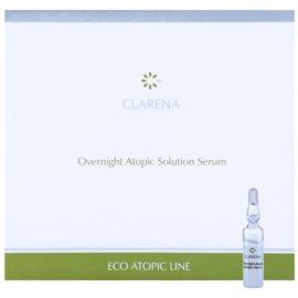 Clarena Eco Atopic Line beruhigendes Serum für die Nacht für atopische Haut  10 x 3 ml