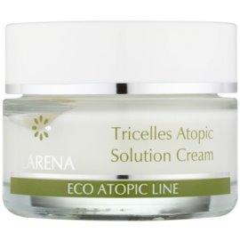 Clarena Eco Atopic Line Tricelles pleťový krém se třemi druhy kmenových buněk pro citlivou a podrážděnou pleť  50 ml