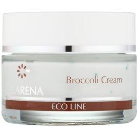 Clarena Eco Line Broccoli pečující krém pro pleť vystavenou nežádoucím účinkům UV záření  50 ml