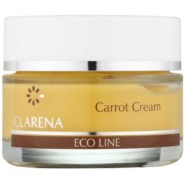 Clarena Eco Line Carrot regenerierende Gesichtscreme mit Betakarotin  50 ml