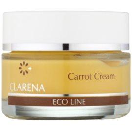 Clarena Eco Line Carrot regeneracijska krema za obraz z betakarotenom  50 ml