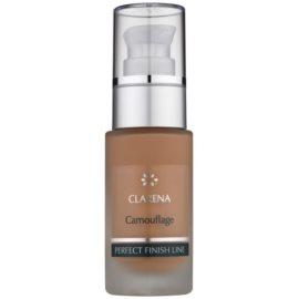 Clarena Perfect Finish Line Camouflage Make up für Haut mit kleinen Makeln Großpackung Farbton Amber 30 ml