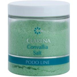 Clarena Podo Line Convallia soľ do kúpeľa na nohy  250 g