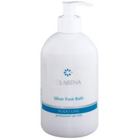 Clarena Podo Line Silver baño relajante con extractos herbales para aliviar los pies cansados   500 ml