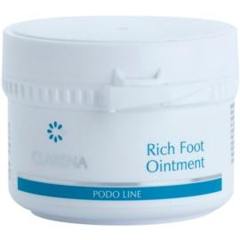 Clarena Podo Line výživná mast pro suchou pokožku se sklonem k prasklinám  75 ml