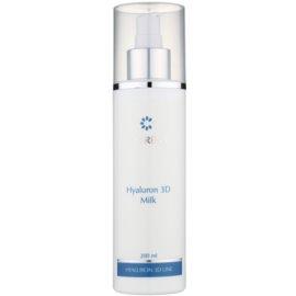 Clarena Hyaluron 3D Line hydratisierende Milch zum entfernen von Make-up für trockene Haut  200 ml