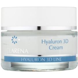 Clarena Hyaluron 3D Line feuchtigkeitsspendende Gesichtscreme mit Hyaluronsäure  50 ml
