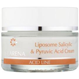 Clarena Acid Line Liposome Salicylic & Pyruvic Acid noční krém pro pleť s nedokonalostmi  50 ml