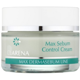 Clarena Max Dermasebum Line Max нормалізуючий крем для жирної шкіри  50 мл