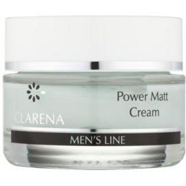 Clarena Men's Line Power mattierende Creme für fettige Haut  50 ml