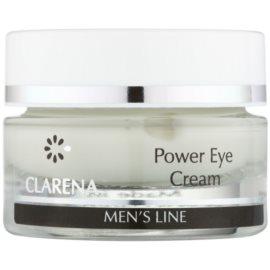 Clarena Men's Line Power crema de ochi impotriva cearcanelor si ochilor umflati  15 ml