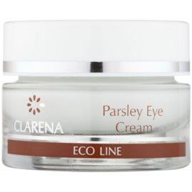 Clarena Eco Line Parsley Augencreme gegen Schwellungen und Augenringe  15 ml