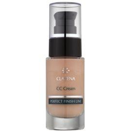 Clarena Perfect Finish Line CC krém pro pleť se sklonem k začervenání velké balení odstín Almond 30 ml