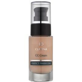 Clarena Perfect Finish Line krem CC dla skóry skłonnej do zaczerwienień duże opakowanie odcień Almond 30 ml