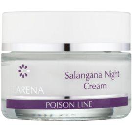 Clarena Poison Line Salangana noční zpevňující a protivráskový krém pro pleť s hyperpigmentací  50 ml