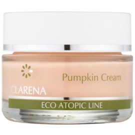 Clarena Eco Atopic Line Pumpkin regenerierende und hydratisierende Creme für fettige Haut  50 ml