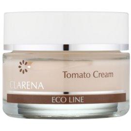Clarena Eco Line Tomato verjüngende Creme Creme zur Wiederherstellung der Festigkeit der Haut  50 ml