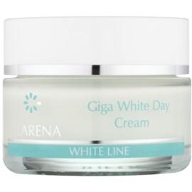 Clarena White Line Giga bleichende Tagescreme zur Vereinheitlichung der Hautfarbe  50 ml