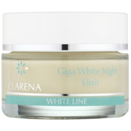 Clarena White Line Giga Whitening Night Cream To Unify The Color Of Skin Tone  50 ml