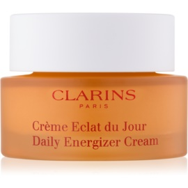 Clarins Daily Energizer crema de día hidratante e iluminadora para pieles normales y secas  30 ml