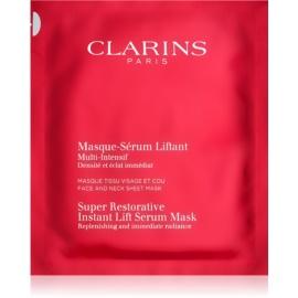 Clarins Super Restorative obnovující maska pro okamžité vyhlazení vrásek  30 ml