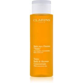 Clarins Body Age Control & Firming Care gel za prhanje in kopanje z eteričnimi olji  200 ml