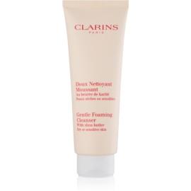 Clarins Cleansers espuma limpiadora suave para pieles sensibles y secas  125 ml
