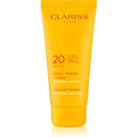 Clarins Sun Protection krema za sončenje za telo SPF 20  200 ml