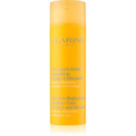 Clarins Sun Soothers soin hydratant après-soleil visage et décolleté  50 ml