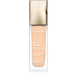 Clarins Face Make-Up Skin Illusion maquillaje con efecto iluminador para un aspecto natural SPF 10 tono 107 Beige  30 ml