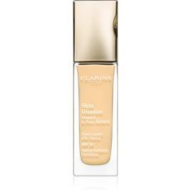 Clarins Face Make-Up Skin Illusion maquillaje con efecto iluminador para un aspecto natural SPF 10 tono 110 Honey  30 ml