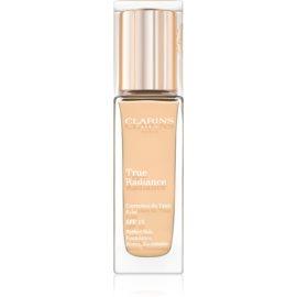 Clarins Face Make-Up True Radiance posvetlitveni in vlažilni tekoči puder za popoln videz SPF 15 108 Sand  30 ml