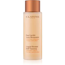 Clarins Sun Self-Tanners samoopaľovací prípravok na tvár a dekolt  125 ml