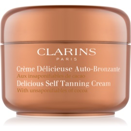 Clarins Sun Self-Tanners Delicious Self Tanning Cream with Unsaponifiables of Cocoa 125 ml