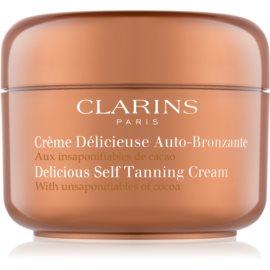 Clarins Sun Self-Tanners samoporjavitvena krema za telo in obraz s kakavovim maslom  125 ml