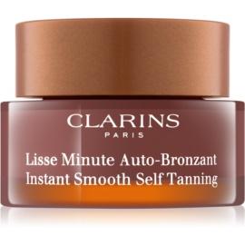 Clarins Sun Self-Tanners espuma autobronzeadora  para rosto, pescoço e decote  30 ml