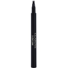 Clarins Eye Make-Up 3-Dot Liner tekoče črtalo za oči odtenek Black  0,7 ml