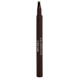 Clarins Eye Make-Up 3-Dot Liner tekoče črtalo za oči odtenek Brown  0,7 ml