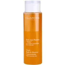 Clarins Body Age Control & Firming Care sprchový a koupelový gel s esenciálními oleji  200 ml