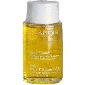 Clarins Body Specific Care óleo corporal relaxante com extratos vegetais  100 ml