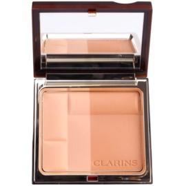 Clarins Face Make-Up Bronzing Duo ásványi bronzosító púder árnyalat 02 Medium  10 g