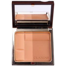 Clarins Face Make-Up Bronzing Duo pudra bronzanta cu minerale culoare 03 Dark  10 g